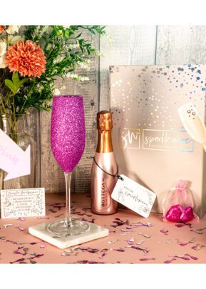 Bottega | 20cl Sparkling wine | Rose Gold | Sparkleware Gift Set