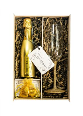 Bottega Gold | 75cl Prosecco | Sparkleware gift set
