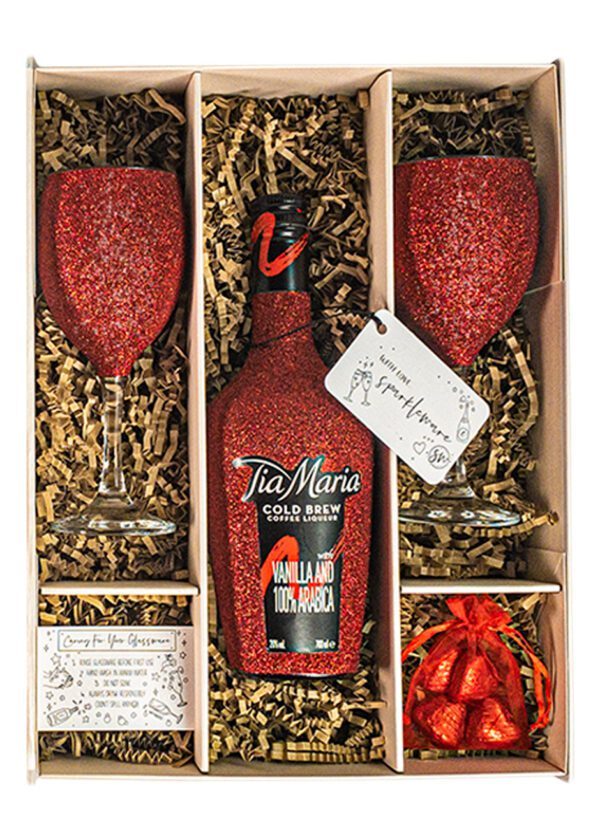 Tia Maria | 70cl | Red | Sparkleware Gift Set | Keico Drinks