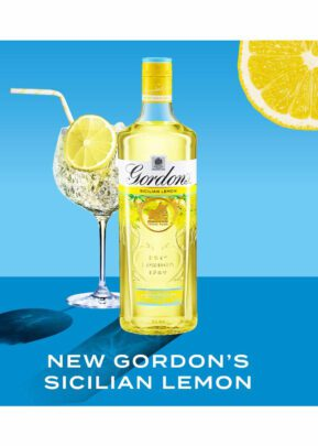 Gordon's Sicilian Lemon | Gin | Bottle 70cl