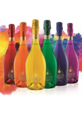 Accademia Prosecco | 6 x 75cl | Rainbow | KeiCo Drinks