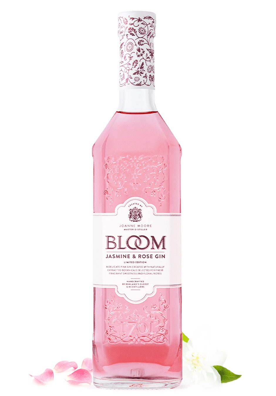 Bloom | Jasmine & Rose | Gin | 70cl Bottle