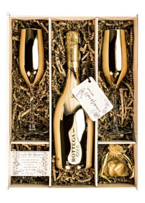 Bottega | Gold Prosecco 75cl | Sparkleware Gift Set | Keico Drinks