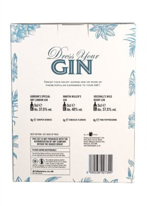 Dress Your Own Gin | Gift Pack | KeiCo Drinks