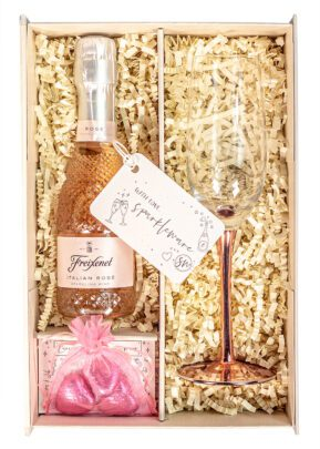 Freixenet Sparkling Rose Wine | 20cl | Sparkleware Gift Set | Keico Drinks