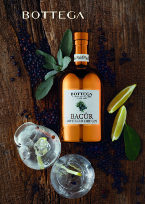 Bottega | Dry Gin Bacur Gift Set | Keico Drinks