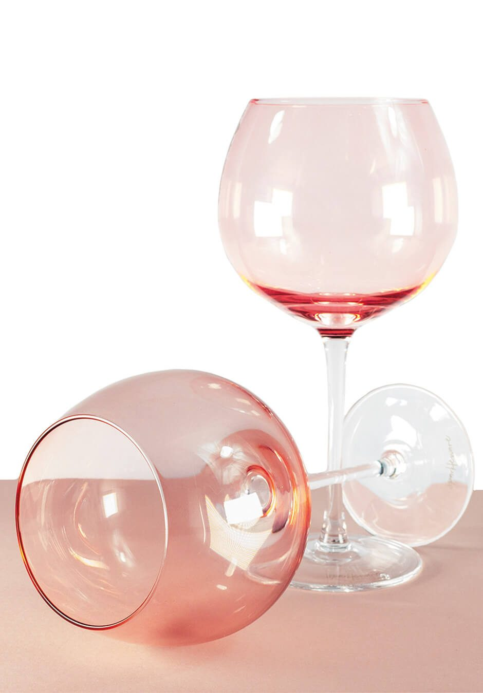 Sparkleware® Pink Gin Glasses | Keico Drinks