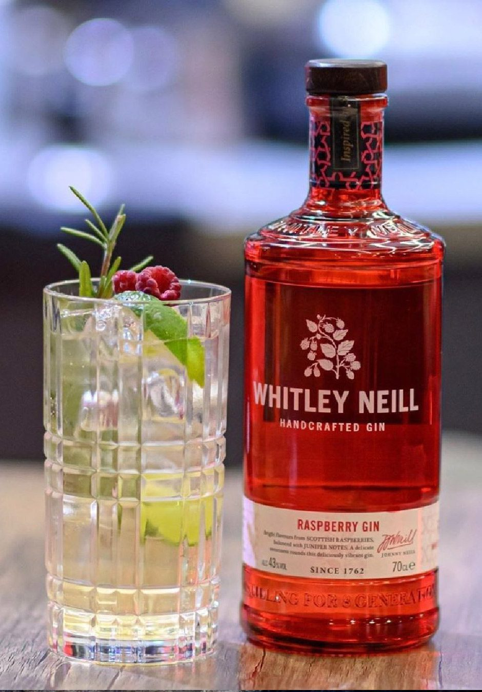 Whitley Neill Raspberry | Handcrafted Gin | Cocktail