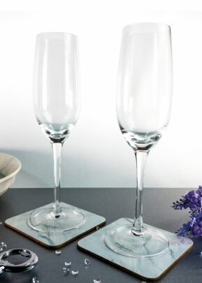 Sparkleware® Champagne Flutes | Keico Drinks