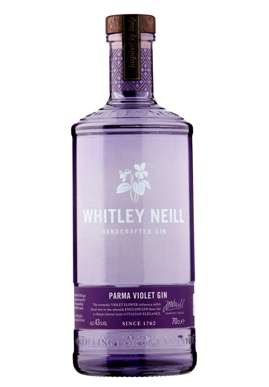 Whitley Neil   Hand Crafted   Parma Violet Gin