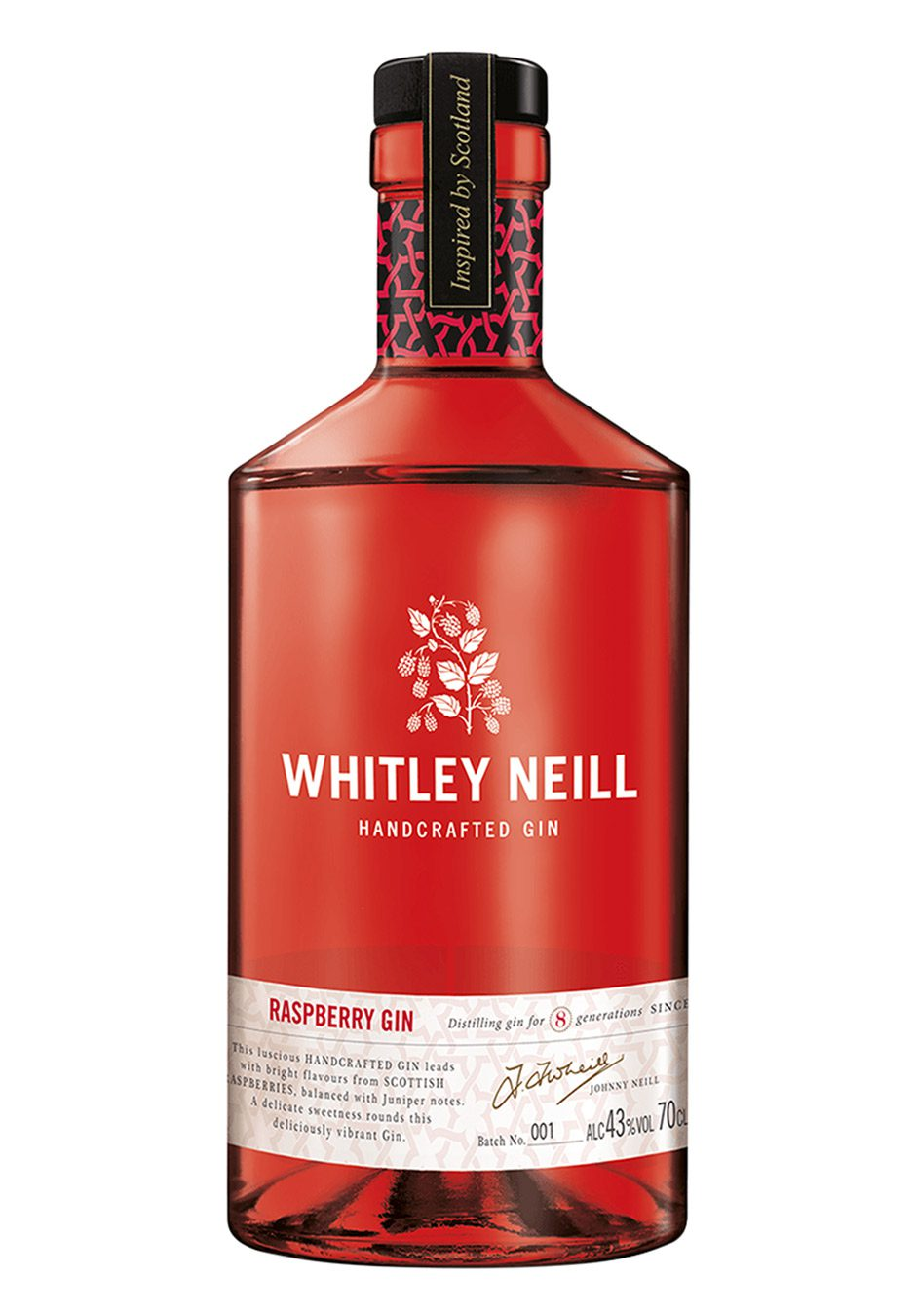 Whitley Neill Raspberry | Handcrafted Gin