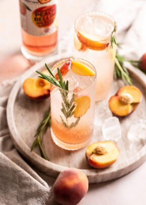 Zymurgorium | Peach Bellini Gin Based Liqueur | 50cl | Keico Drinks