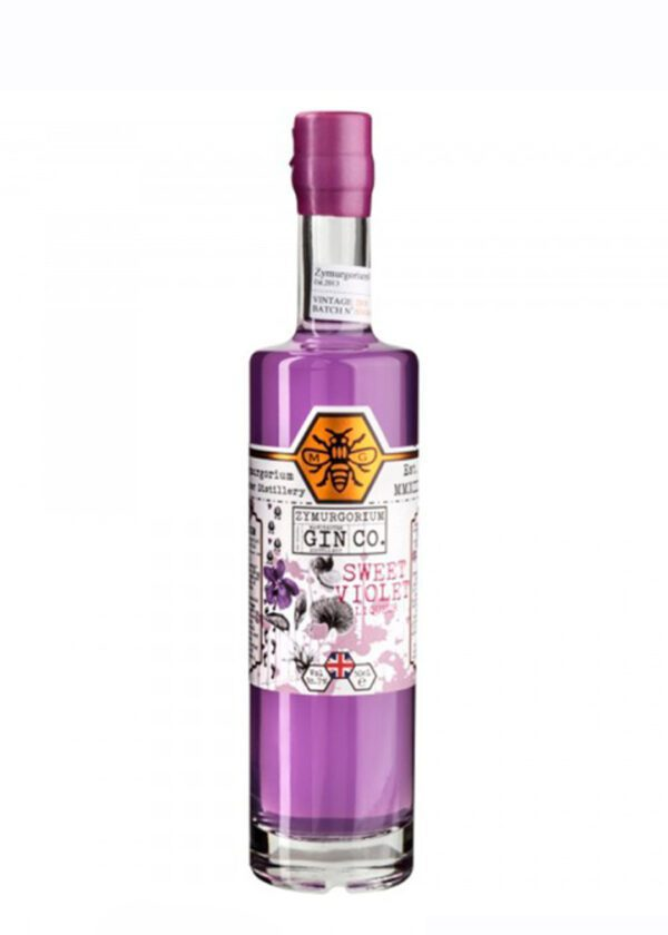 Zymurgorium | Sweet Violet Gin Based Liqueur | 50cl | Keico Drinks