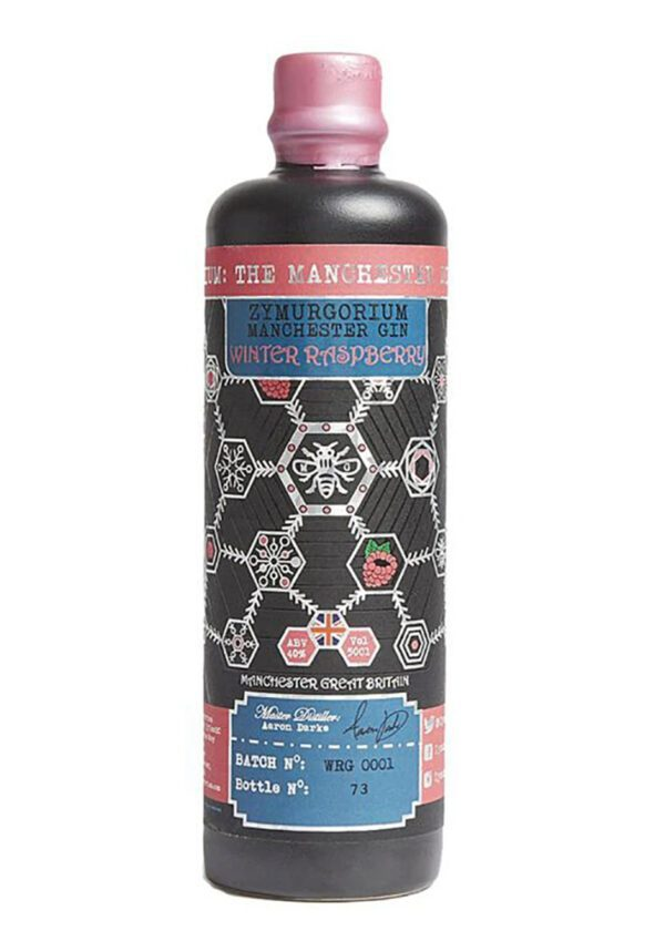 Zymurgorium | Winter Raspberry GIN | 20cl Bottle | Keico Drinks