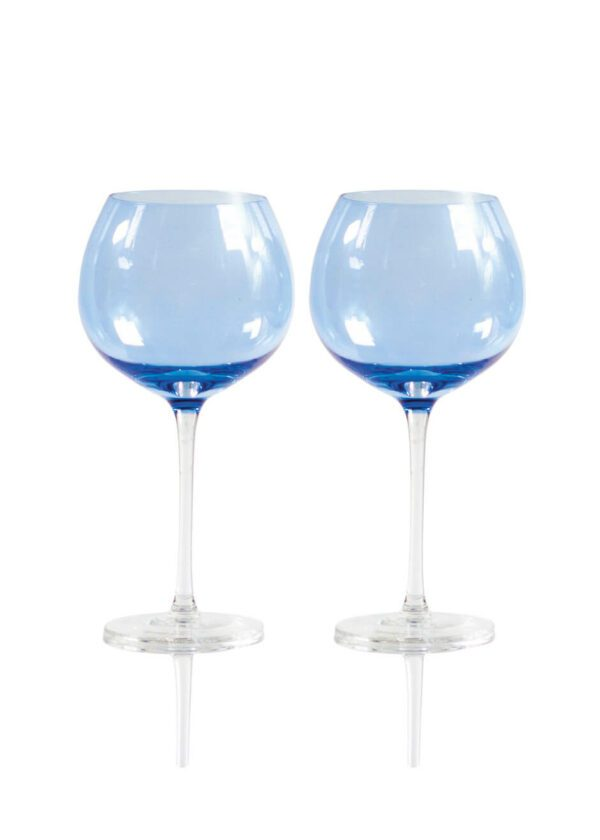 Sparkleware® Blue Gin Glasses | Keico Drinks
