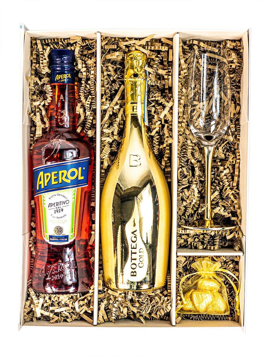 Aperol Spritz | Cocktail Giftpack | Bottega Prosecco | Keico Drinks