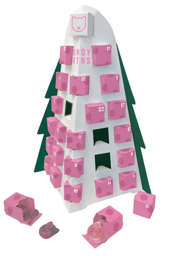 Candy Kittens | Christmas Advent Calendar Tree | KeiCo Drinks