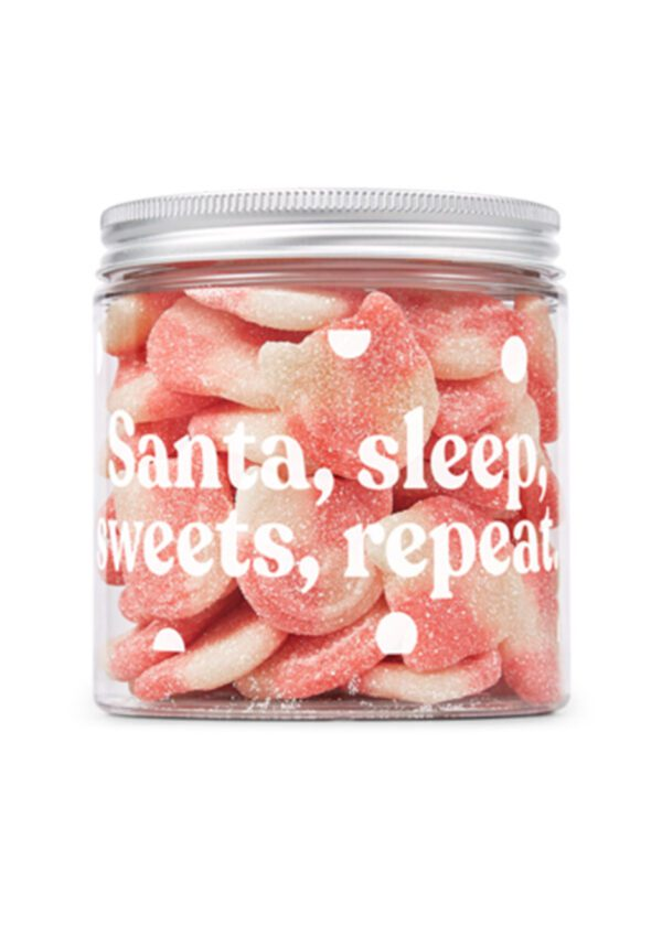 Candy Kittens | Tropical Mango 350g Sweets Jar | KeiCo Drinks