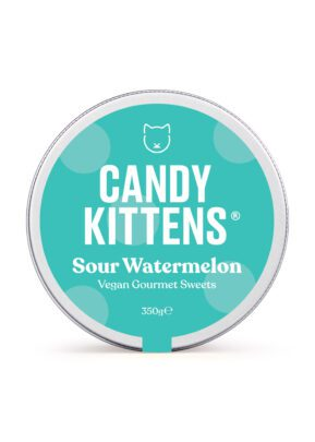 Candy Kittens | Sour Watermelon 350g Sweets Jar | KeiCo Drinks