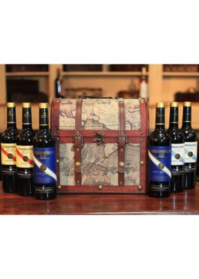 Rioja Wine | Chest Gift Set | 6 x 75cl | KeiCo Drinks