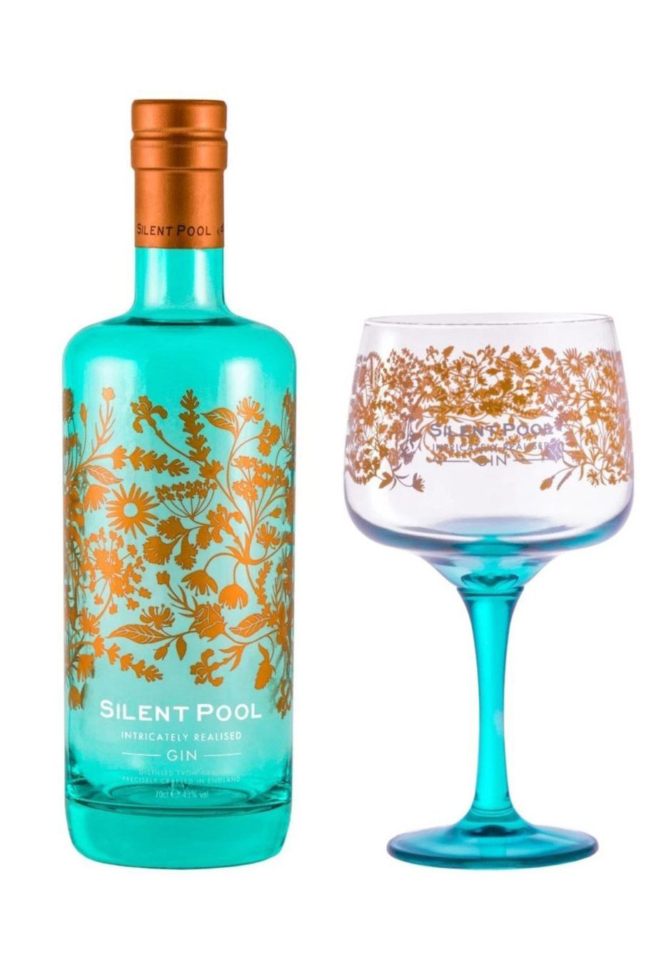 Silent Pool Gin | Gift Pack | with Copa Gin Glass | KeiCo Drinks
