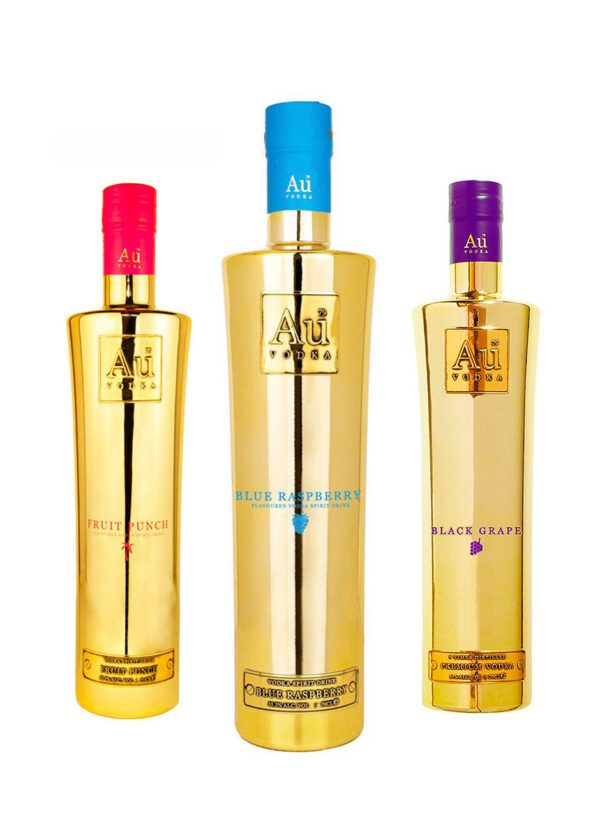 AU Vodka Trio Bundle | 3 x 70cl | KeiCo Drinks