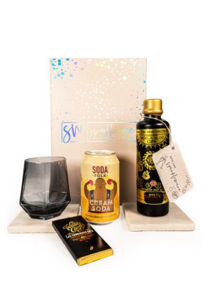 Choc-A-Bloc Gin & Cream Soda | Sparkleware Gift Set | KeiCo Drinks