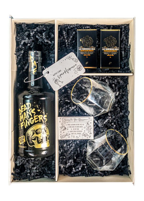 Dead Mans Fingers | Spiced Rum | Sparkleware Gift Set | KeiCo Drinks