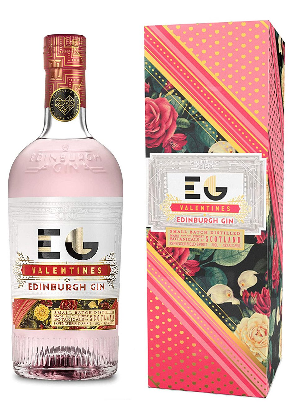 Edinburgh Gin 70cl | Valentines Edition | KeiCo Drinks