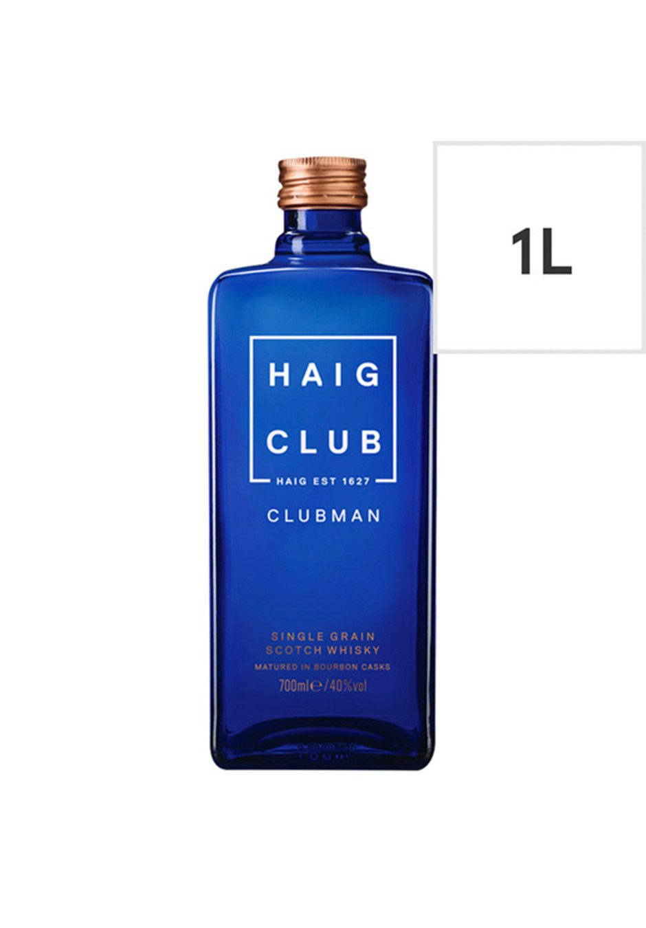 Haig Club Whisky | 1L Single Grain Scotch | KeiCo Drinks