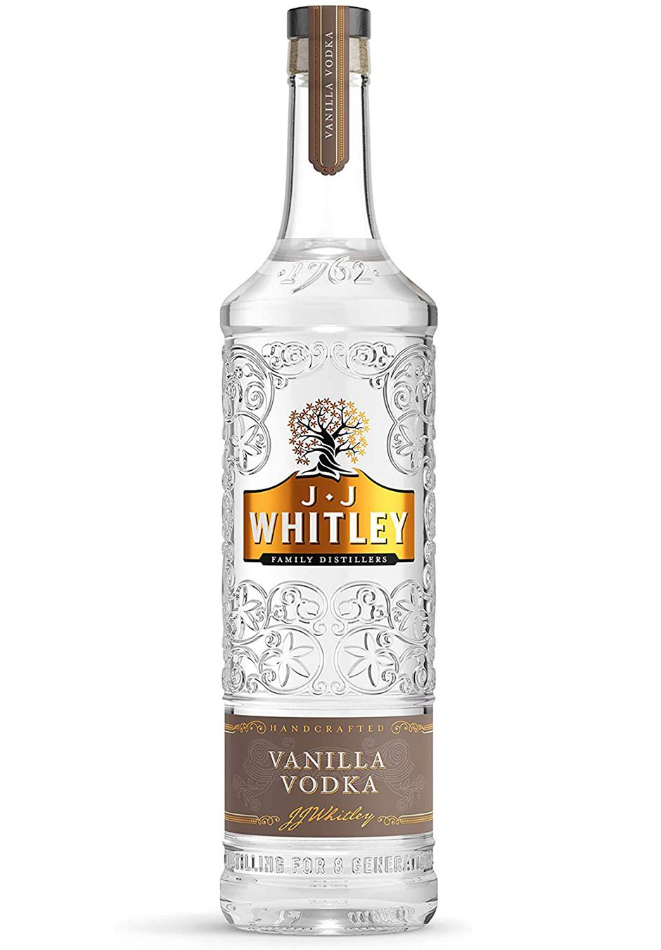 JJ Whitley | Vanilla Vodka 70cl | KeiCo Drinks