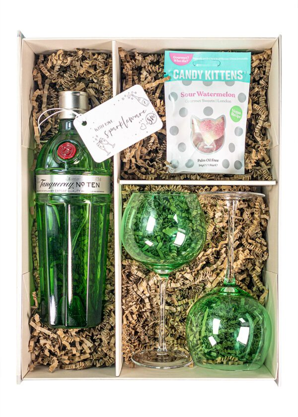 Tanqueray No.10 Gin | Sparkleware Gift Set | KeiCo Drinks