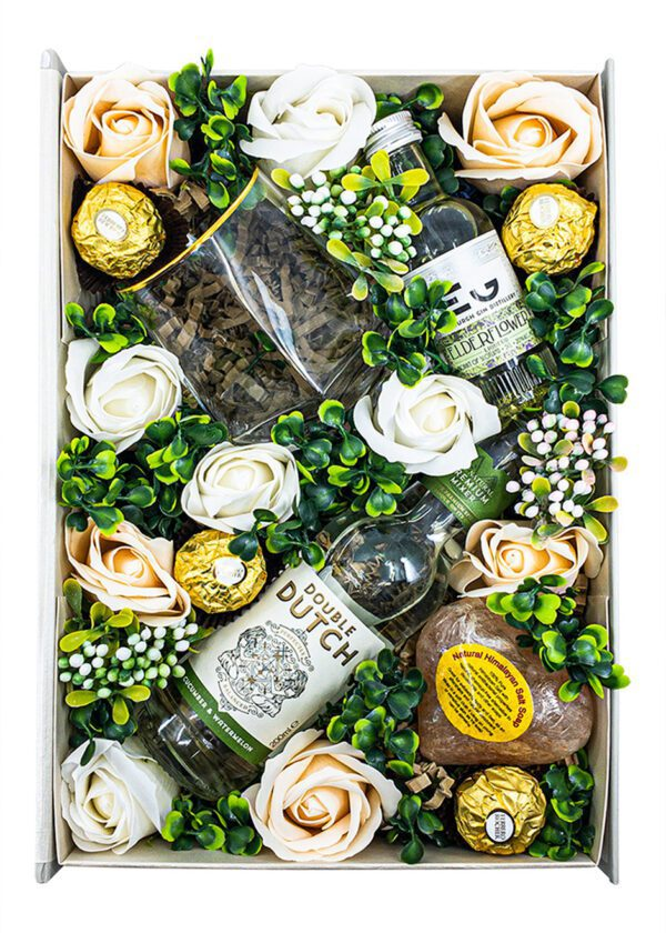 The Elderflower Evergreen Floral Gift Set | KeiCo Drinks