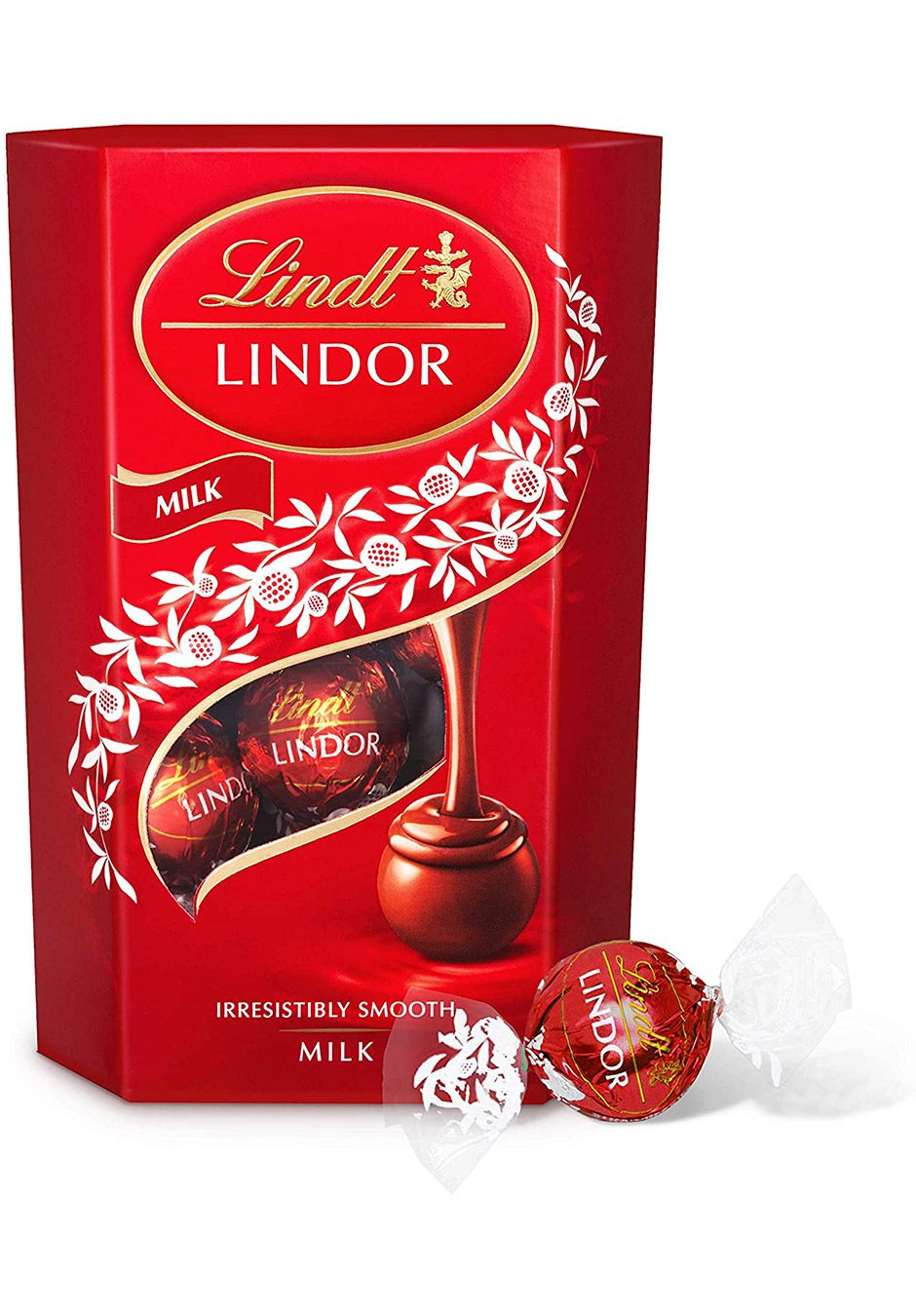 Lindt Lindor | Milk Truffles 200g Gift Box | KeiCo Drinks