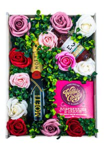 The Sweet Roses Floral Gift Set | Keico Drinks