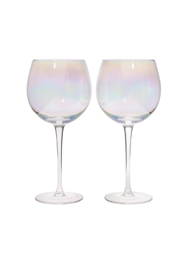 Sparkleware® Lustre Gin Glasses | Keico Drinks