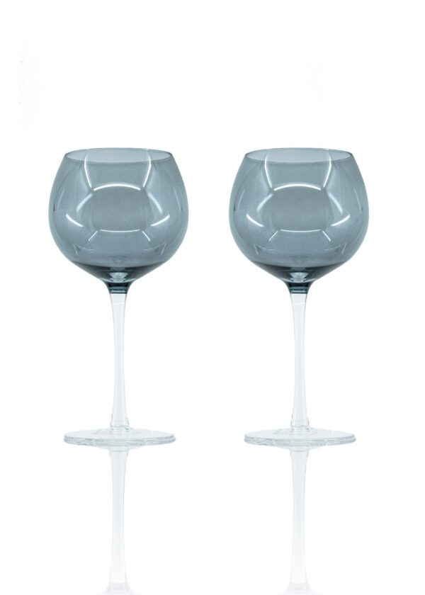 Sparkleware® Smoked Grey Gin Glasses | Keico Drinks