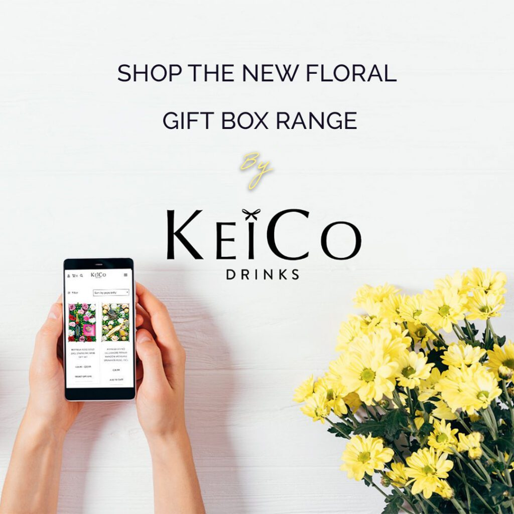Floral Gift Boxes | KeiCo Drinks