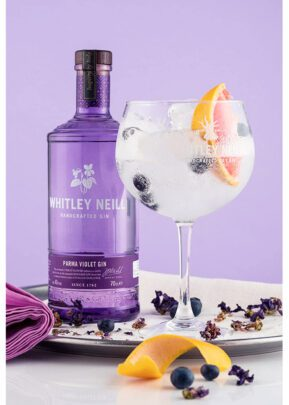 Whitley Neill Parma Violet | 70cl Gift Set | KeiCo Drinks